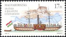 Hungary 1996 Lake Balaton Ferry/Paddle-steamer/Ship/Boats/Transport 1v (n45139)
