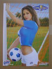 Miller Lite Concacaf Copa Oro 2007 Hot Soccer Girl poster Nos