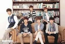 """BOYFRIEND """"GROUP SITTING ON SOFA"""" ASIAN POSTER - Korean K-Pop Music"""