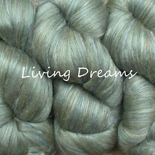 Elegance SILK MERINO Super Bulky Yarn CHUNKY QUICK KNIT Living Dreams SMARAGD