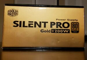Cooler Master Silent Pro Gold 80 Plus Gold 1200W Computer PSU Power Supply