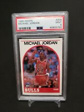 1989-90 NBA Hoops Michael Jordan #200 PSA 9 Mint | HOF | Chicago Bulls🔥📈