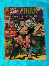 TALES TO ASTONISH # 84, Oct. 1966, SUB-MARINER! HULK! COLAN Art, FAIR Condition
