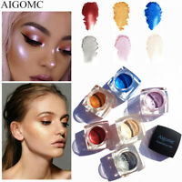 6 Colors Highlighter Make Up Concealer Shimmer Face Glow Eyeshadow Highlighter