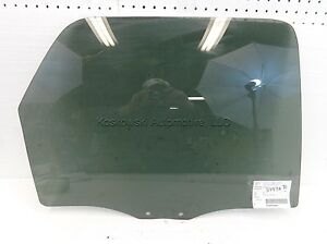 Ford Escape Door Glass Window Right Passenger Side Rear 01 02 03 04 05 06 07
