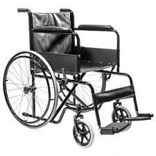lightweight Mobility Transport manual Folding Wheelchair Handbrakes Armrest FDA