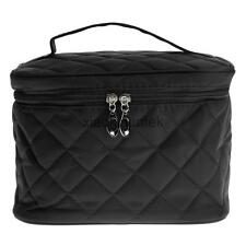 Girls Large Cosmetic Make up Bag Case Travel Toiletry Washing Kit Pouch Blk