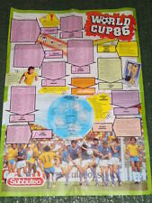 SUBBUTEO WORLD CUP '86 Poster (A1)