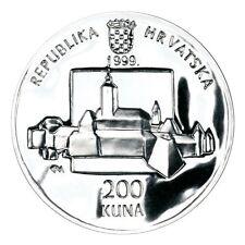 Croatia 200 Kuna, 1999- KATARINA ZRINSKI- SILVER 925/ 1000, 1 oz- PROFF- NEW !!!