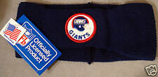 VINTAGE 1980S MINT NY GIANTS EAR WARMERS  NEVER USED