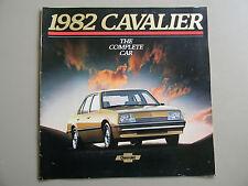 1982 Chevy Cavalier Brochure