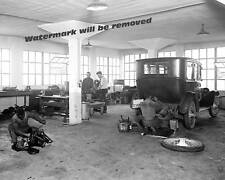 Photograph of the 1921 Oakland Auto Repair Garage in Washington DC  8x10