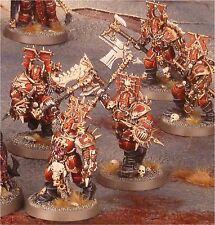 Warhammer Age of Sigmar Khorne Bloodbound Blood Warriors (5) | Chaos
