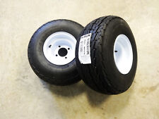 TWO New 18.5X8.50-8 Hi-Run Trailer Tires 6 ply on 4 Hole Wheel 18.5X8.5-8