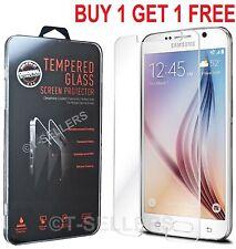 100% Real Genuine Gorilla Tempered Glass Film Screen Protector Samsung Galaxy S6
