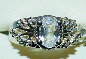 Tanzanian Zircon Ornate Ring