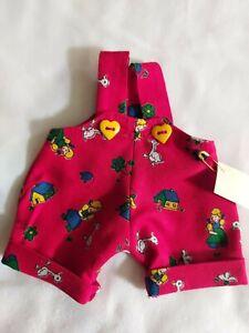 Superbe Pantalon de Crackle, Pour Env. 20 CM Oursons, Unikat- Handarbeit, Fils