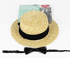 I Love Lucy - Ricky Ricardo Straw Hat and Bow Tie Set