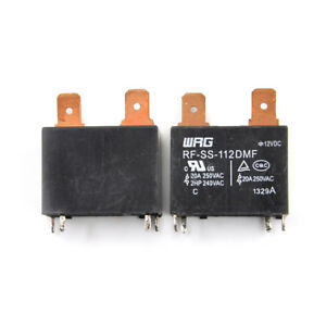 2pcs/set New RF-SS-112DMF 12VDC WRG Relay^s^