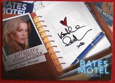 BATES MOTEL (Season 2) - KATHLEEN ROBERTSON Jodi - Autograph Card AKR1 VARIANT A
