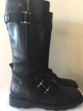 $1,200 New Current Runway Christian Dior Leather Boots 40 US 10