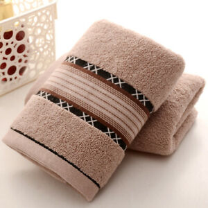 34x76 Cm Soft Cleaner Towel Cotton Bath Sheet Absorbent Face Hand Bathroom Towel