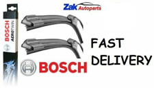 FOR PEUGEOT 407 + CC + SW (04-) ALL MODELS FRONT WIPER BLADES BOSCH AEROTWIN SET