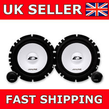 "ALPINE SXE-1750S 6.5"" 16.5cm Car Van Door Speakers Components Set 2Way 280W"