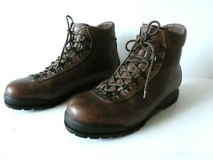 SCARPA TRONIC  MOUNTAINEERING HIKING MENS BOOTS SIZE 11 M BROWN MADE IN ITALY