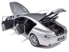 ASTON MARTIN RAPIDE SILVER 1/18 DIECAST MODEL CAR BY AUTOART 70217