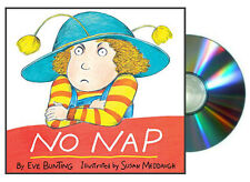 No Nap READ ALONG BOOK & CD (paperback)  by Eve Bunting NEW