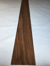 European Walnut Veneer - NATURAL WOOD Sheet - 2800mm x 180mm (110.2 x 7 inches)