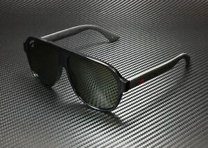 GUCCI GG0009S 001 Aviator Black Green 59 mm Men's Sunglasses