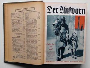 Der Ansporn. Die Zeitschrift für Vorwärtsstrebende. Jg. 1934 Band 1/12 Ausgaben