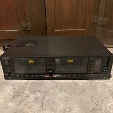 Technics DBX Dolby Noise Reduction RS-T80R KPE Dual Cassette Deck