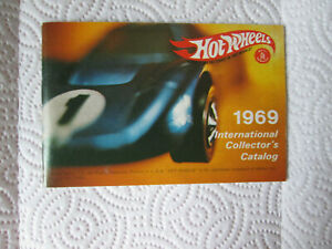 Hot Wheels 1969 International Collector's Catalog 36 Page Redline Spectraflame
