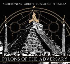 Acherontas/puissance/arditi/shibalba-Split CD (DIGIPAK)