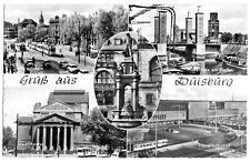 AK, Duisburg, Gruß aus Duisburg, fünf Abb., um 1960