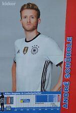 ANDRE SCHÜRRLE - A3 Poster (ca. 42 x 28 cm) - Fußball EM 2016 Clippings Sammlung