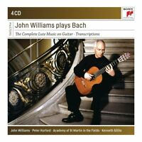 JOHN WILLIAMS PLAYS BACH - WILLIAMS,JOHN  4 CD NEW!