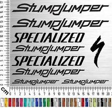 SPECIALIZED STUMPJUMPER | Fahrrad Aufkleber | Bike Sticker | Frame Set | 9 Stk.