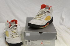 Nike Air Jordan V Retro - White/Black-Fire Red - Size 10 (US) Shoes (5)