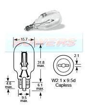 Lucas llb921 12V 21 W SENZA CAPPUCCIO W2.1 X9.5 D lampadina HI Livello Luce di arresto