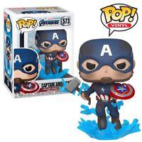 Captain America Mjolnir Avengers Endgame Official Marvel Funko Pop Vinyl Figure
