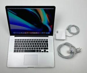 "Apple MacBook Pro Retina 15,4"" i7 2,2 Ghz 1 TB SSD 16 GB Ram SILBER 2015"