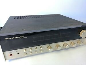 Harman Kardon HK 730 Tested Vintage Twin Powered Receiver AM and FM Stereo