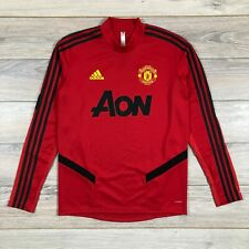 Manchester United 2019-2020 Training Top Red Jacket Football Soccer size M