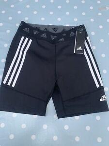 Womens Adidas Running Fitness Shorts Size 12-14