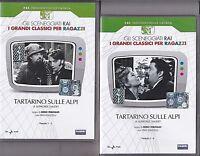 Dvd Sceneggiati Rai **TARTARINO DI TARASCONA SULLE ALPI** di A.Daudet nuovo 1968