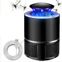 Mute Electric Fly Bug LED Lamp Zapper Mosquito Insect Killer USB LED Light Tr YK